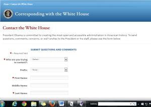whitehouse screen shot