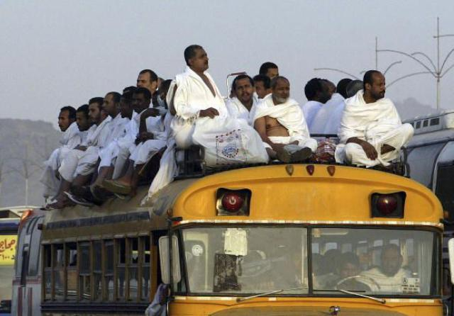 Muslim Pilgrims Climb Mt Arafat As Part Of Hajj Ritual
